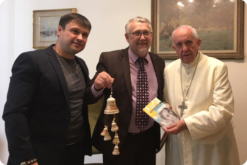 AFFEO Partner Meets Pope Francis!