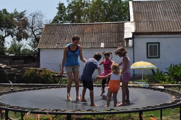 micala isaev kids trampoline